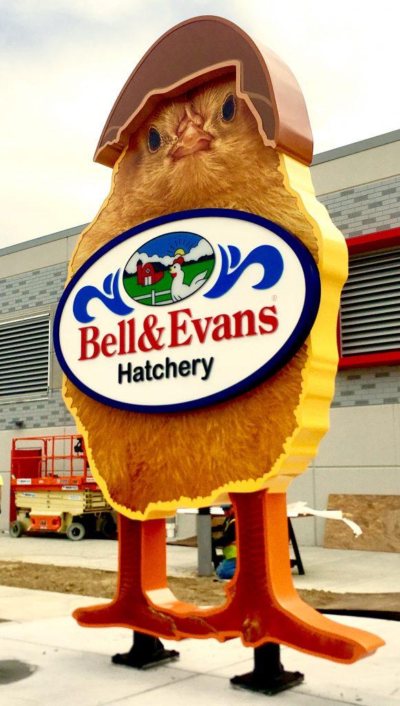 Bell Evans Hatchery Sign