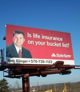 insurance billboards