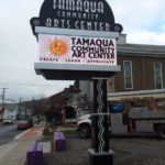 Tamaqua Community Art Center Sign