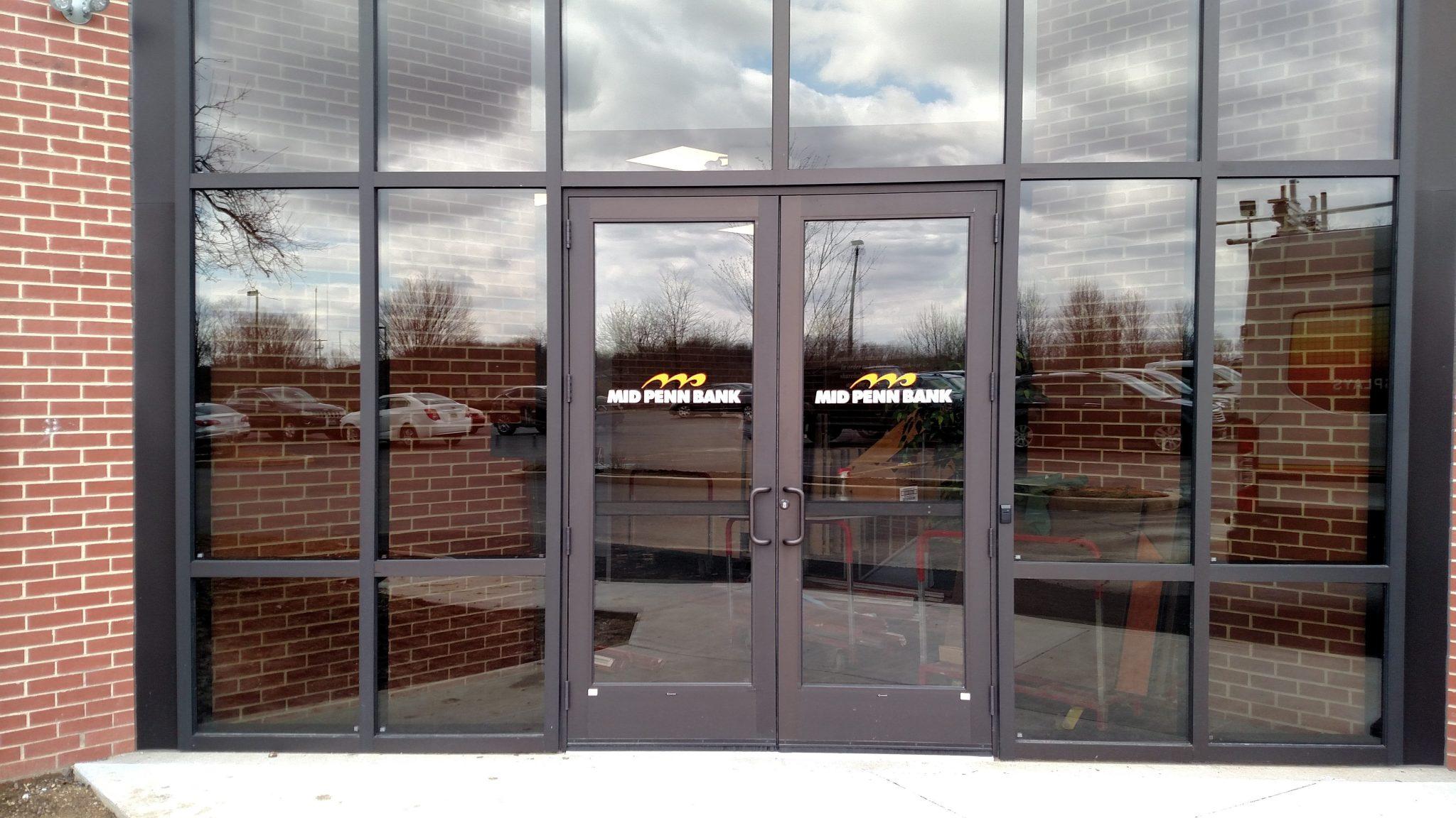 glass door decal