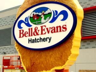 Bell Evans Hatchery Sign