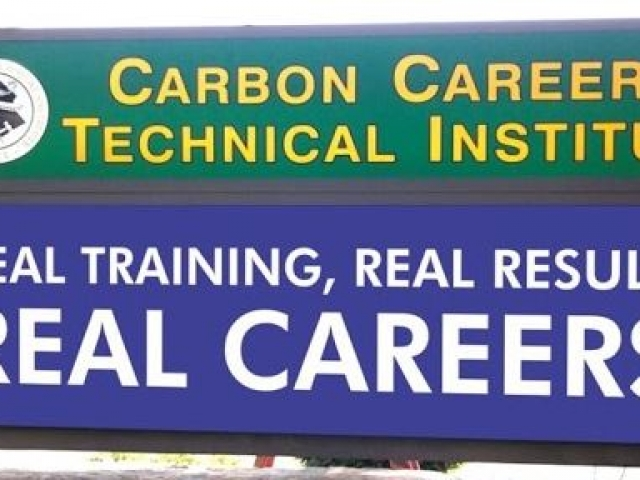 rectangle sign for technical institute