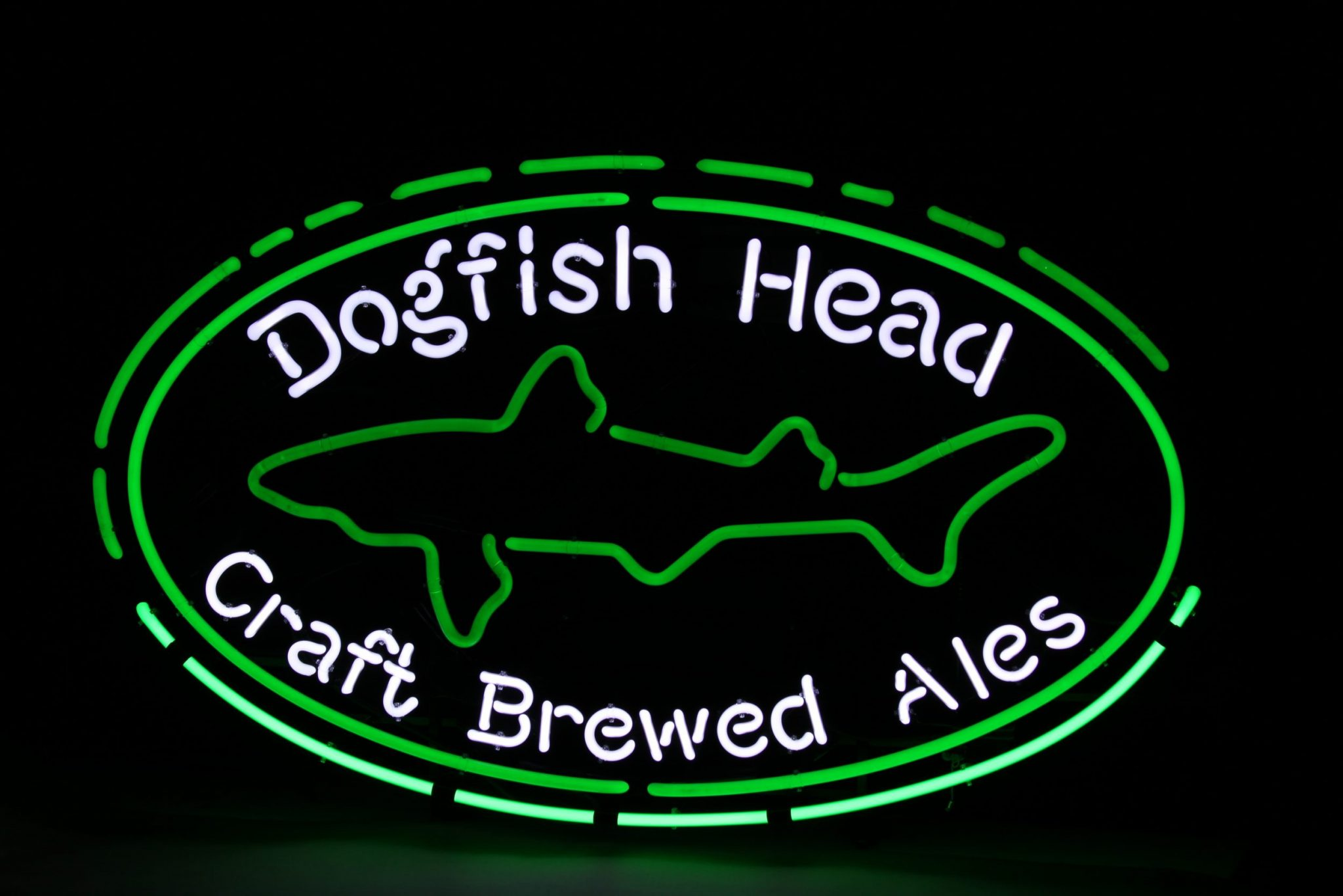 dogfish head beer sign