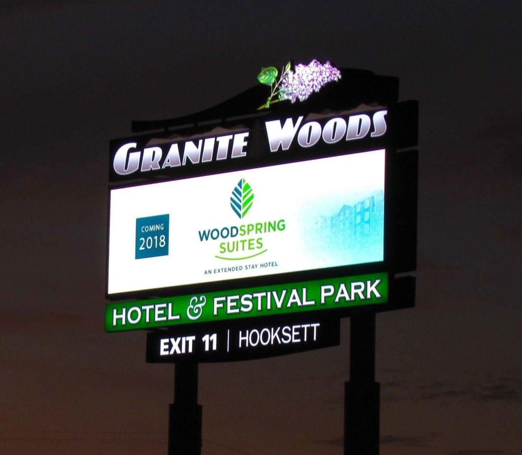 huge led billboard for hotels