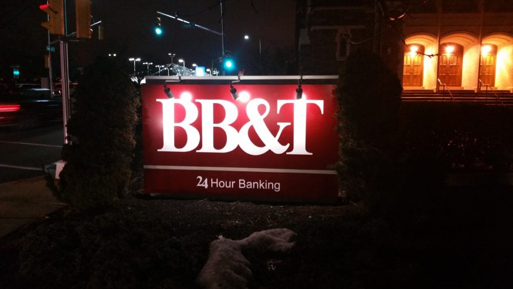 Quality Banking Sign