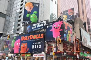 ugly dolls sign