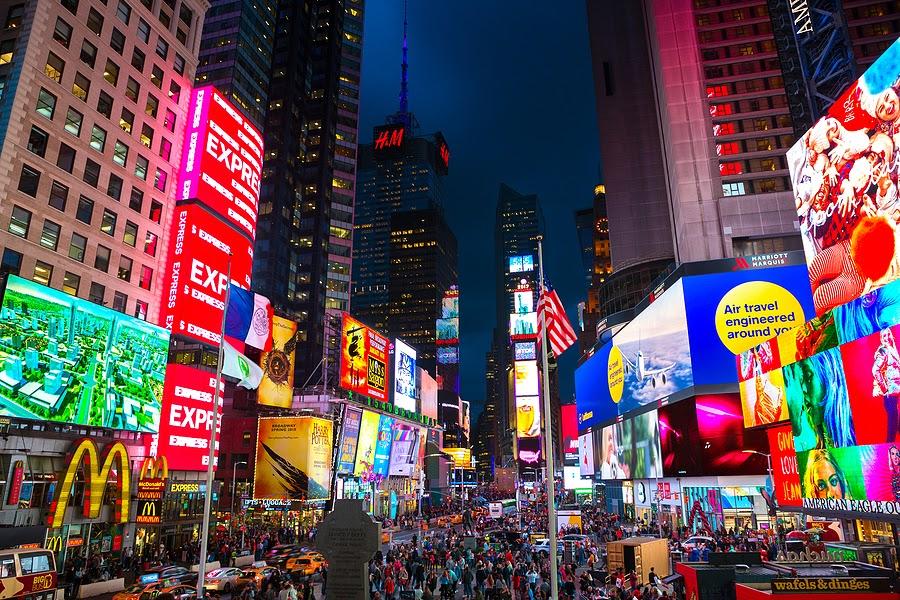 New York City Display Signage