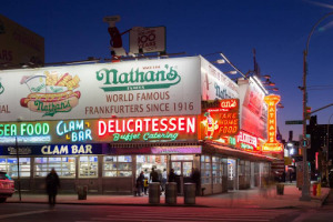 The Original Nathan's Famous at Coney Island