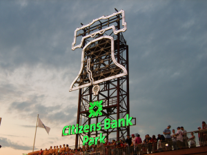 Citizens Bank Park Liberty Bell Sign