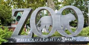 Philadelphia Zoo Sign